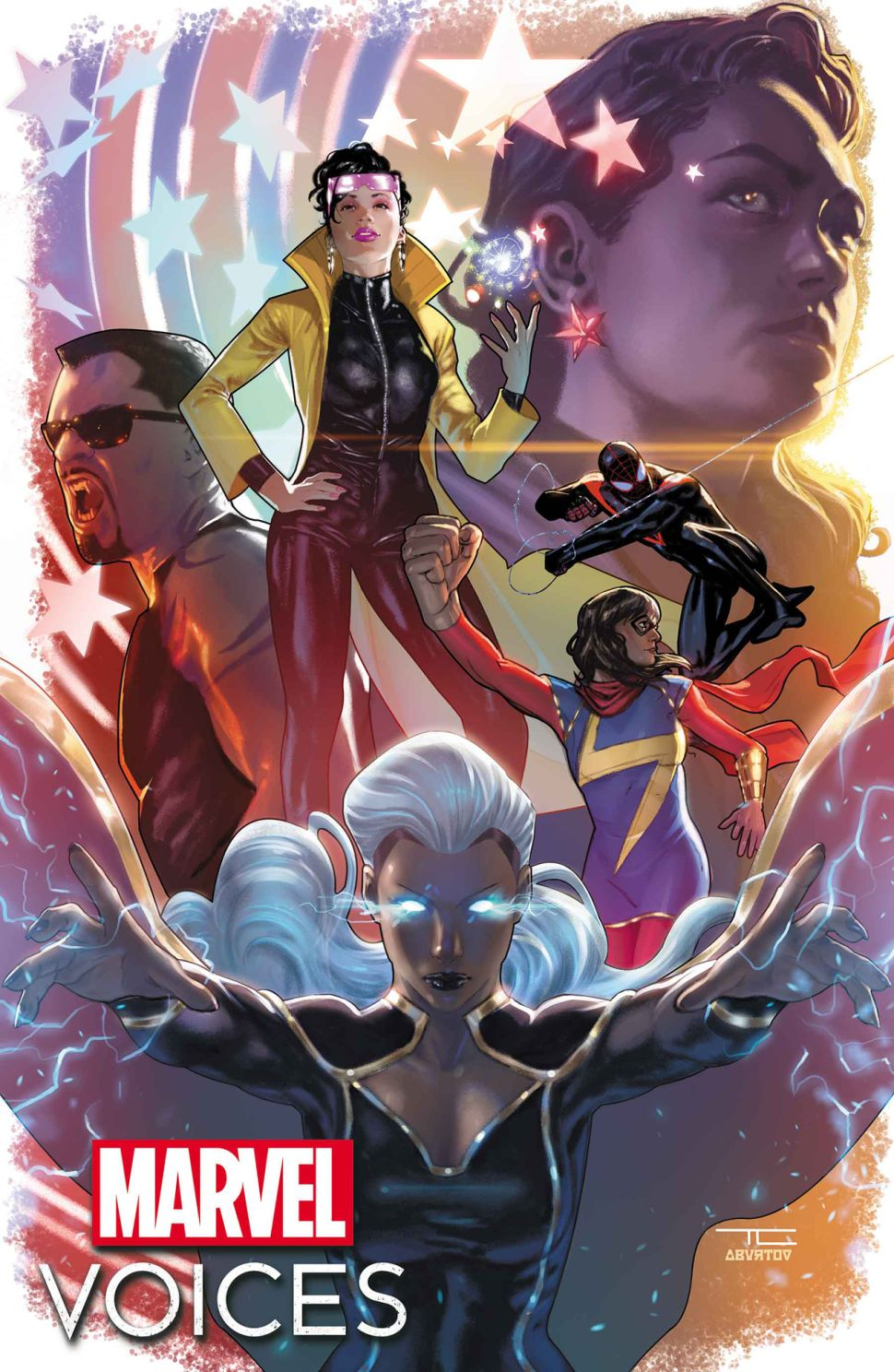 Cover di Marvel's Voices Legacy di Taurin Clarke
