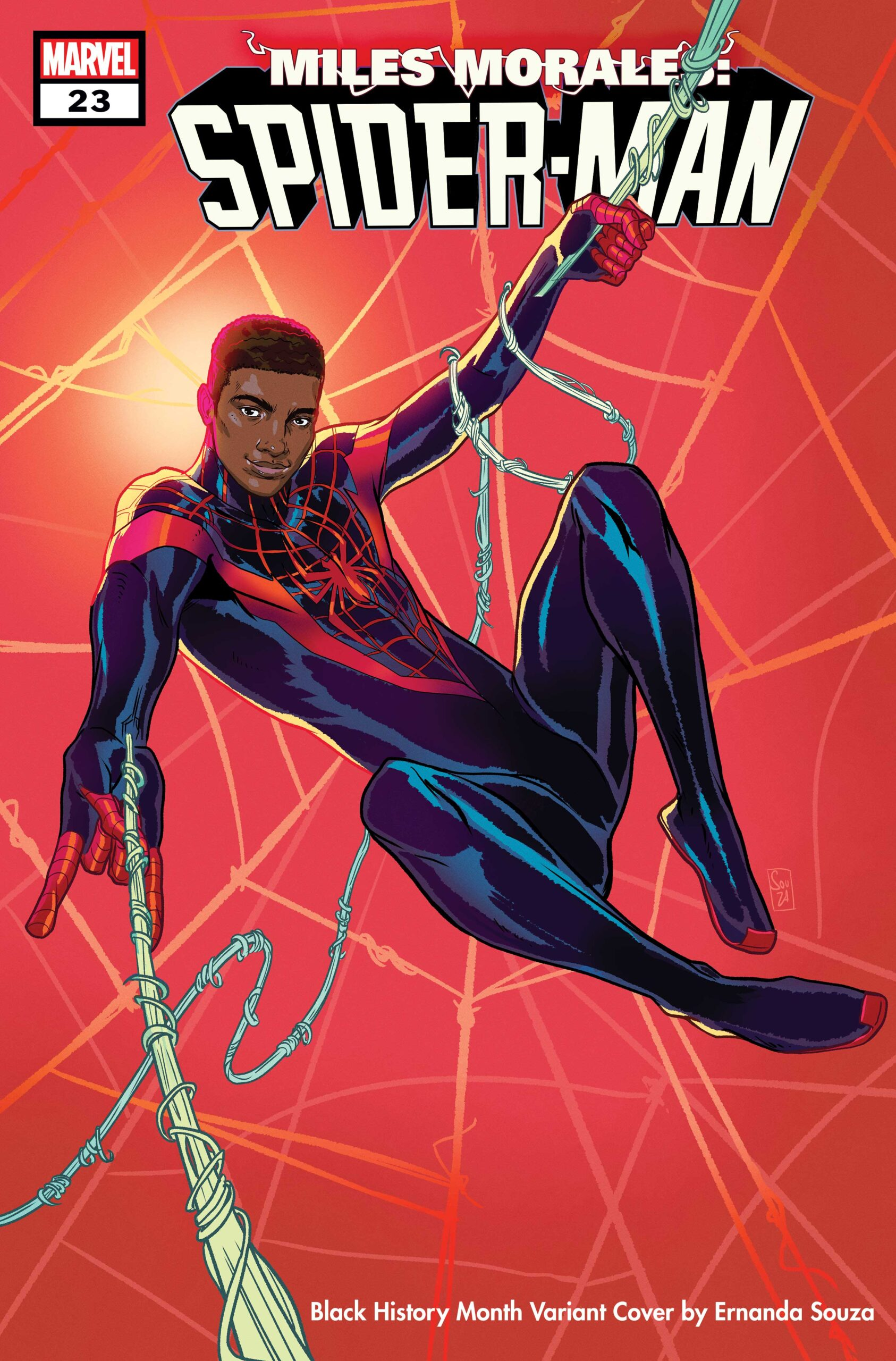 Miles Morales: Spider-Man 23 Black History Month