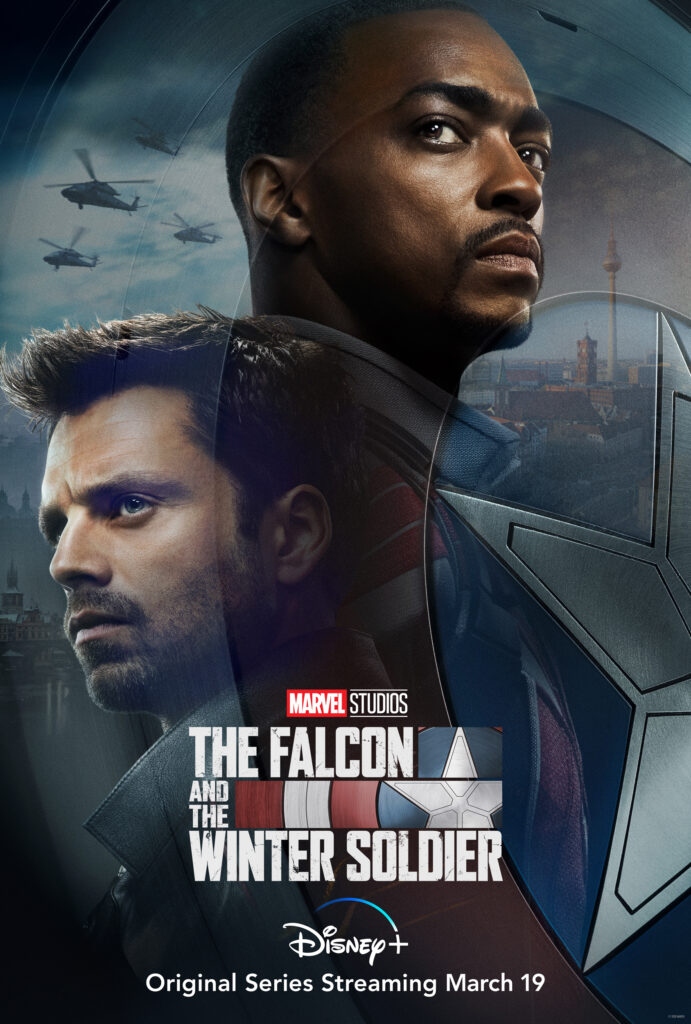 La prima immagine promozionale di The Falcon and the Winter Soldier, dal 19 marzo su Disney+