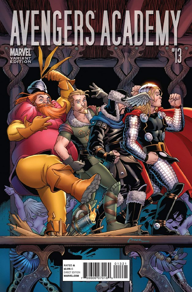 Variant cover di Avengers Academy 13