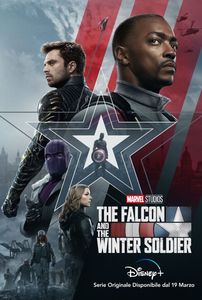 La seconda immagine promozionale di The Falcon and the Winter Soldier, dal 19 marzo su Disney+