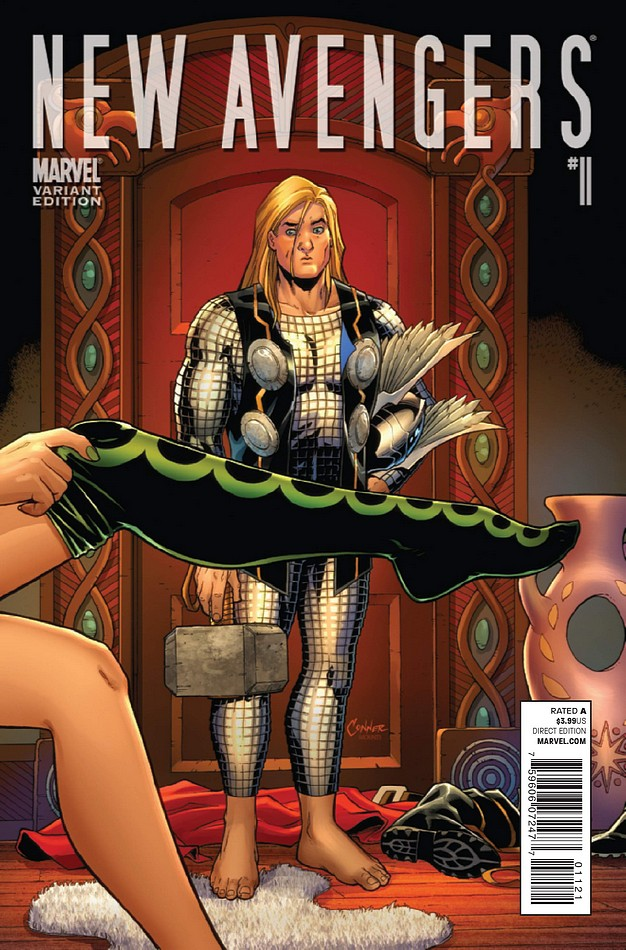 Variant cover di New Avengers 11