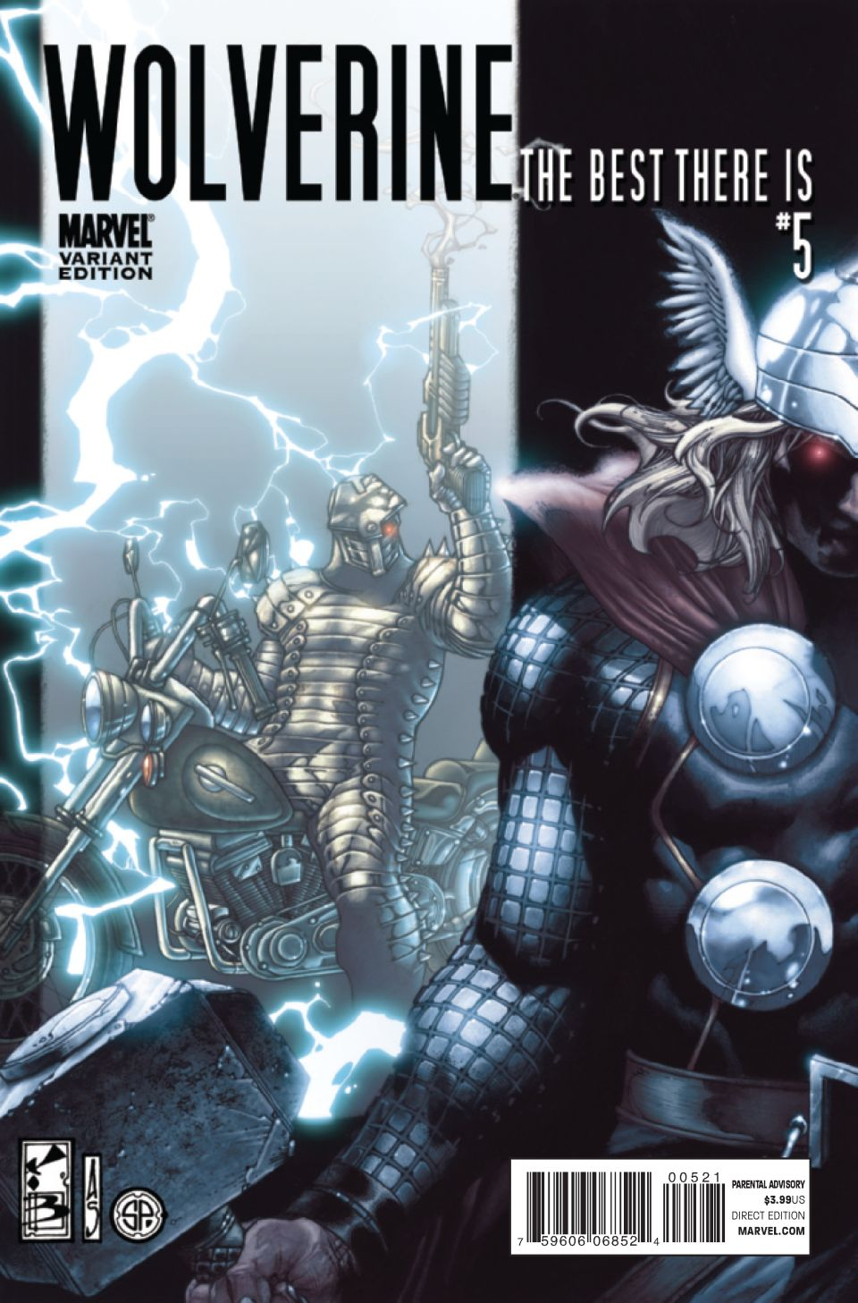 Variant cover di Wolverine: The Best There Is 5
