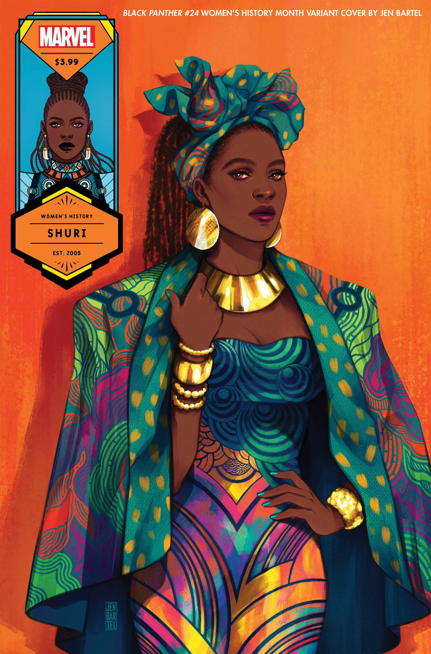 Black Panther 24 Women's History Month Variant
