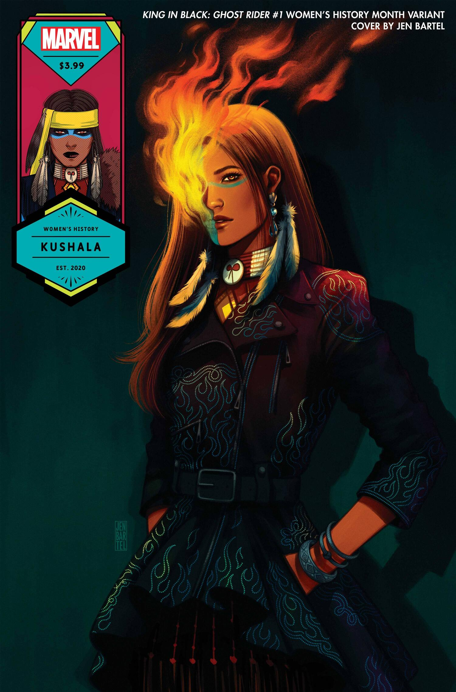 King in Black: Ghost Rider Women's History Month Variant