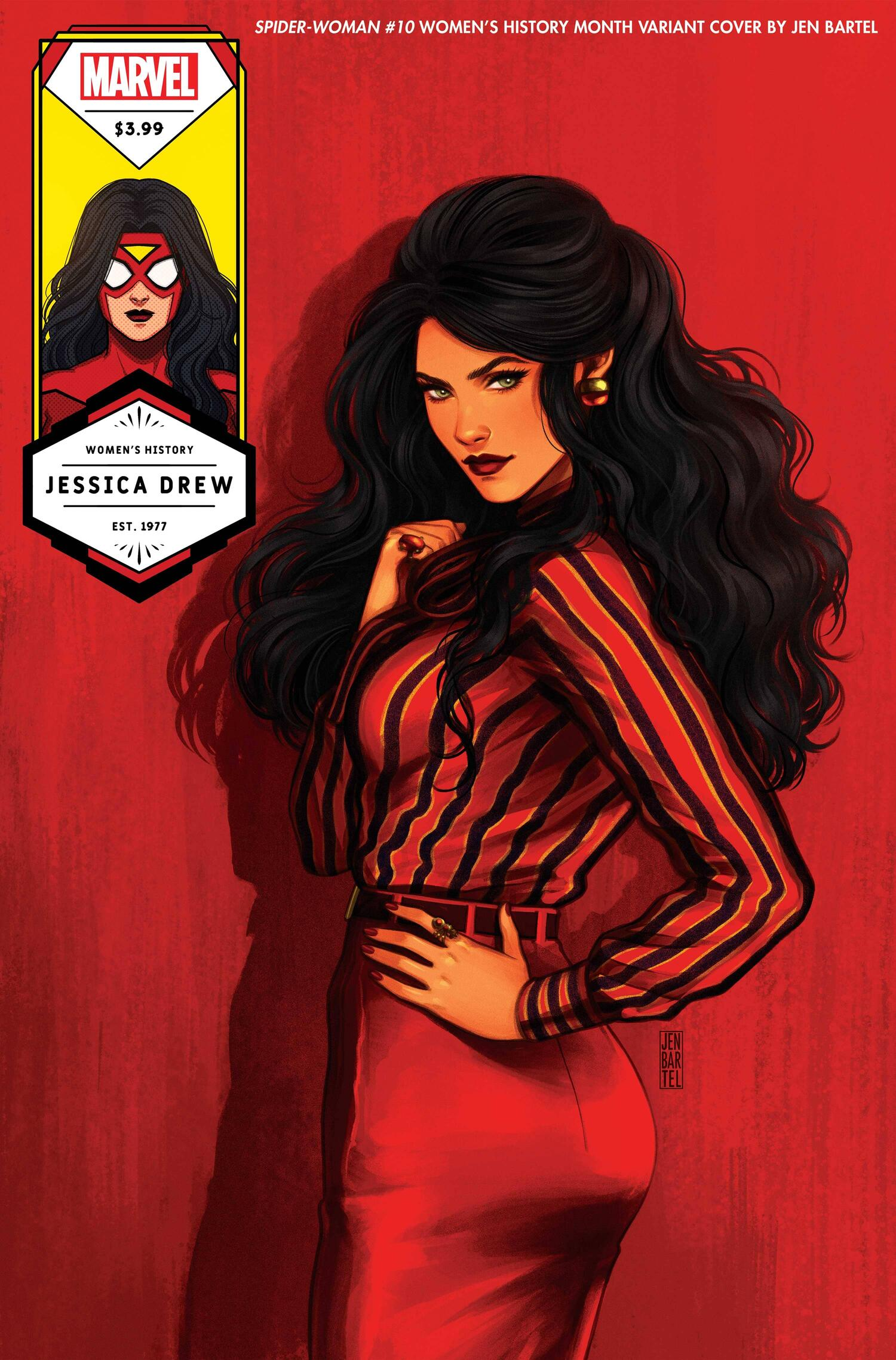 Spider-Woman 10 Women's History Month Variant