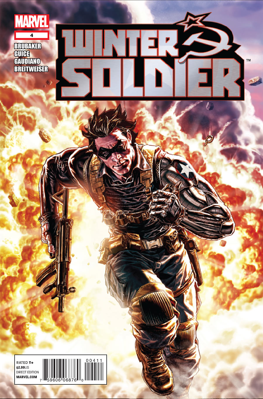Copertina di Winter Soldier 4 del 2012, di Lee Bermejo
