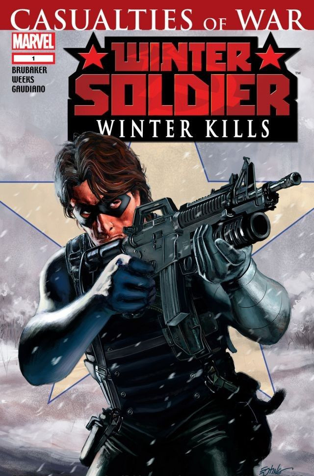 Copertina di Winter Soldier: Winter Kills del 2007, di Steve Epting